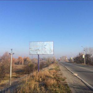 Внешняя реклама на билбордах по дороге P69 Киев-Вышгород-Десна Чернигов км 30 690 (слева)