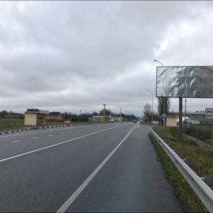 Білборд розміщений в М-07 Київ-Ковель-Ягодин, км 39 + 600 зліва (Бородянський район)